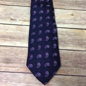 Brooks brothers paisley Golden Fleece xl tie